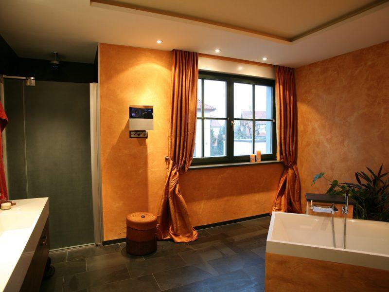 65 Exklusiv gestaltetes Badezimmer