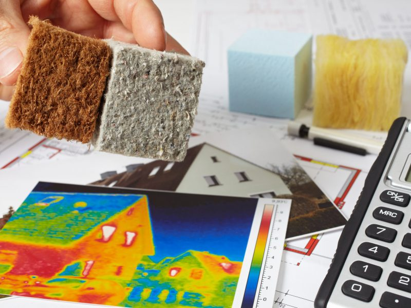 thermal imaging and insulation materials